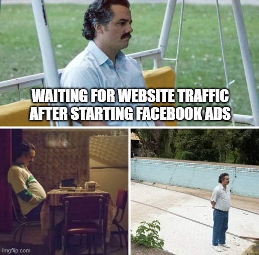 why your facebook ads suck meme