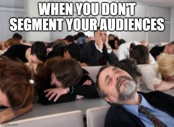 segmenting your audiences is incredibly important when setting up Facebook ads